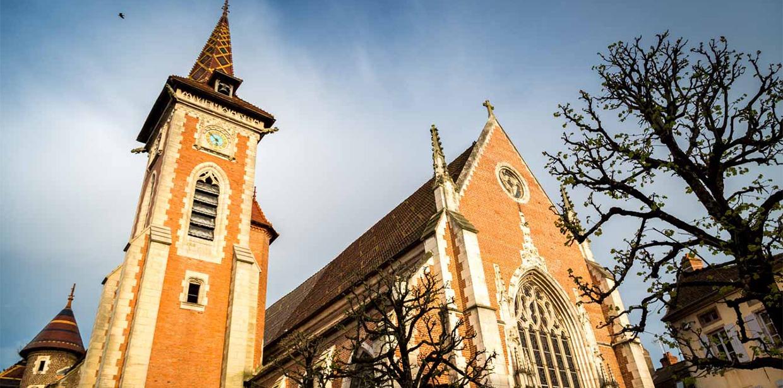 Ferme de Balme église Louhans