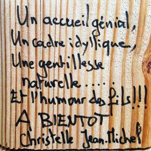 Témoignage Christelle et Jean-Michel - Ferme de Balme