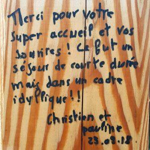 Témoignage Christian et Pauline - Ferme de Balme