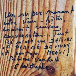 Témoignage Christophe - Ferme de Balme