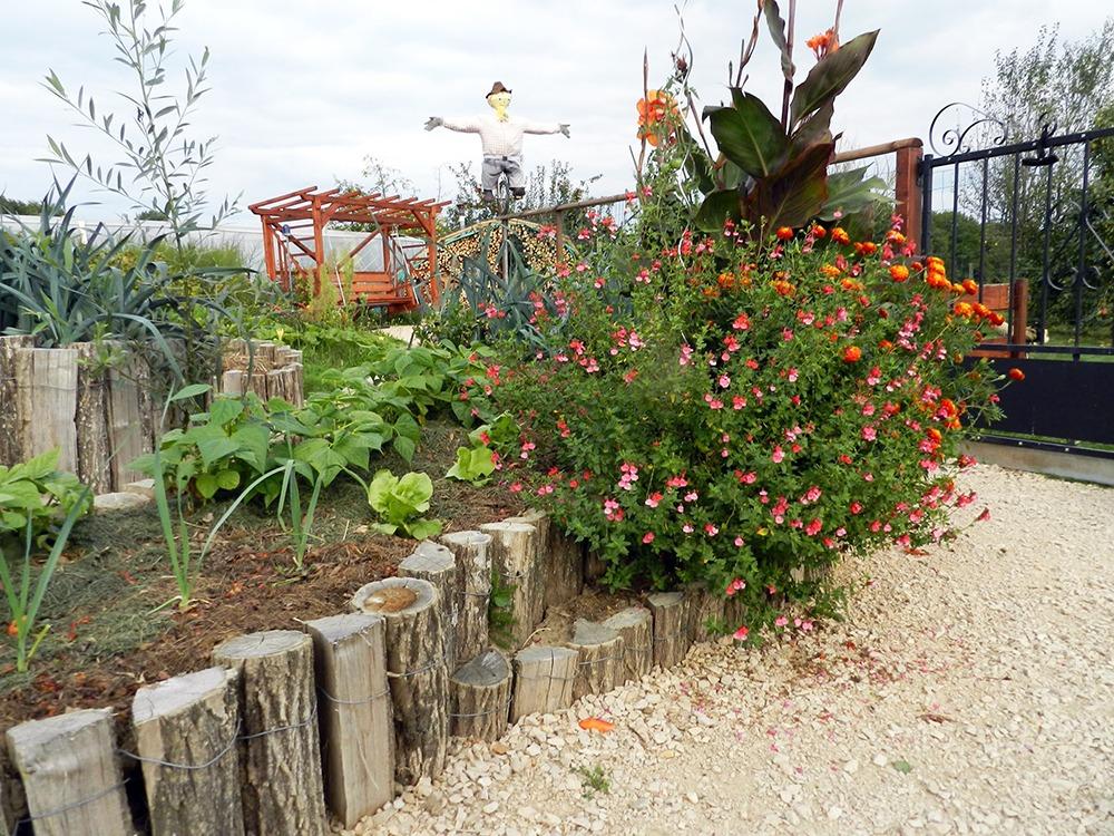 Le beau jardin de la Ferme de Balme