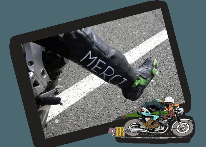 Merci motard - Ferme de Balme