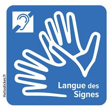 LSF logo langue des signes
